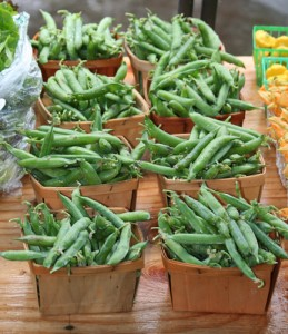 Fresh Peas from Laurel Grove Farms