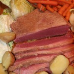 Corned Beef and Cabbage with Carrots, Onions, and Potatoes